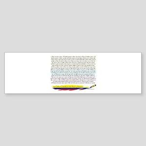 50 Dichos Amor y Desamor Bumper Sticker