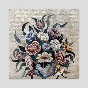 Floral Boquet Queen Duvet