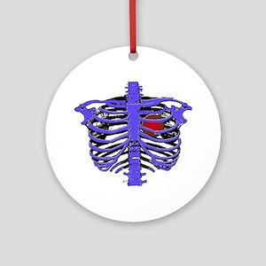 Rib Cage Ornament (Round)