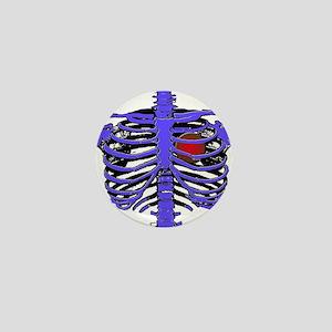 Rib Cage Mini Button
