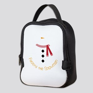 Frosty The Snowman Neoprene Lunch Bag