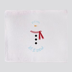 Let It Snow! Throw Blanket