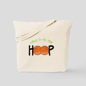 Too The Hoop Tote Bag
