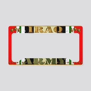 Harvest Moons Army Iraq Campaign Ribbon License Pl
