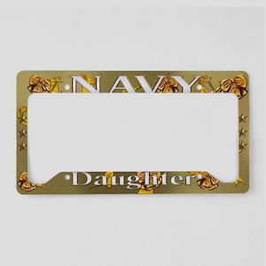 Harvest Moons Navy Daughter License Plate Holder