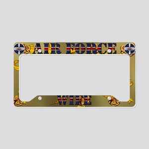 Harvest Moons Air Force Wife License Plate Holder