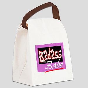 Badass Babe Canvas Lunch Bag