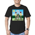 Bug Patrol Men's Fitted T-Shirt (dark)