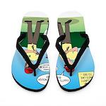 Bug Patrol Flip Flops
