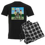Bug Patrol Men's Dark Pajamas