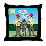 Bug Patrol Throw Pillow