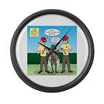 Bug Patrol Large Wall Clock