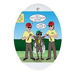 Bug Patrol Ornament (Oval)