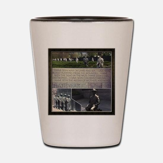 Franklin D Roosevelt  Shot Glass