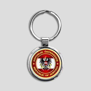 Austria Medallion Keychains