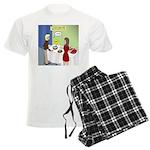 Dip Warning Men's Light Pajamas