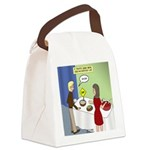 Dip Warning Canvas Lunch Bag