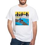 TV Show Bad Ideas White T-Shirt
