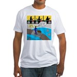 TV Show Bad Ideas Fitted T-Shirt