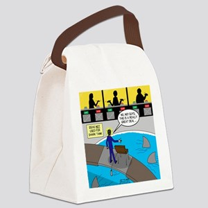 TV Show Bad Ideas Canvas Lunch Bag