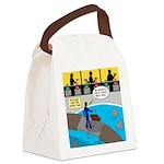 TV Show Bad Ideas Canvas Lunch Bag