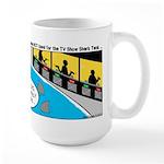 TV Show Bad Ideas Large Mug