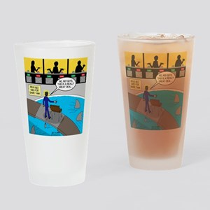 TV Show Bad Ideas Drinking Glass