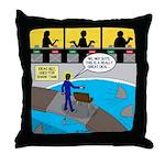 TV Show Bad Ideas Throw Pillow