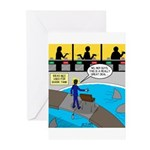 TV Show Bad Ideas Greeting Cards (Pk of 20)