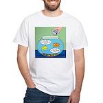 Filet of Fish White T-Shirt