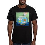 Filet of Fish Men's Fitted T-Shirt (dark)