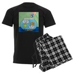 Filet of Fish Men's Dark Pajamas