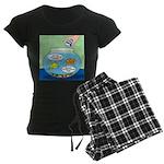 Filet of Fish Women's Dark Pajamas