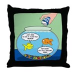 Filet of Fish Throw Pillow