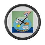 Filet of Fish Large Wall Clock