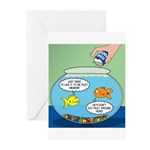 Filet of Fish Greeting Cards (Pk of 10)