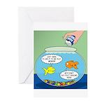Filet of Fish Greeting Cards (Pk of 20)