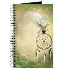Dove Dreamcatcher Journal