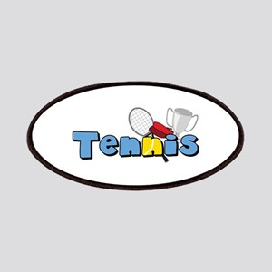 Tennis Time Patches