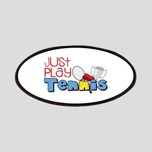 Just Play Tennis Patches