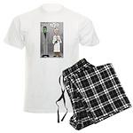 Frankenstein Fathers Day Men's Light Pajamas