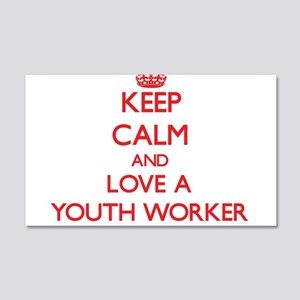 Keep Calm and Love a Youth Worker Wall Decal