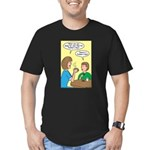 Fathers Day Discovery Men's Fitted T-Shirt (dark)