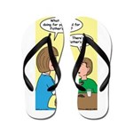 Fathers Day Discovery Flip Flops