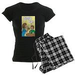 Fathers Day Discovery Women's Dark Pajamas