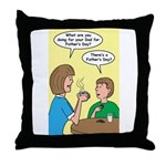 Fathers Day Discovery Throw Pillow