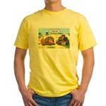 Lion Fathers Day Yellow T-Shirt