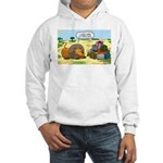 Lion Fathers Day Hooded Sweatshirt