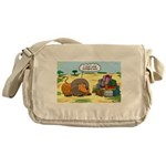 Lion Fathers Day Messenger Bag