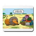 Lion Fathers Day Mousepad